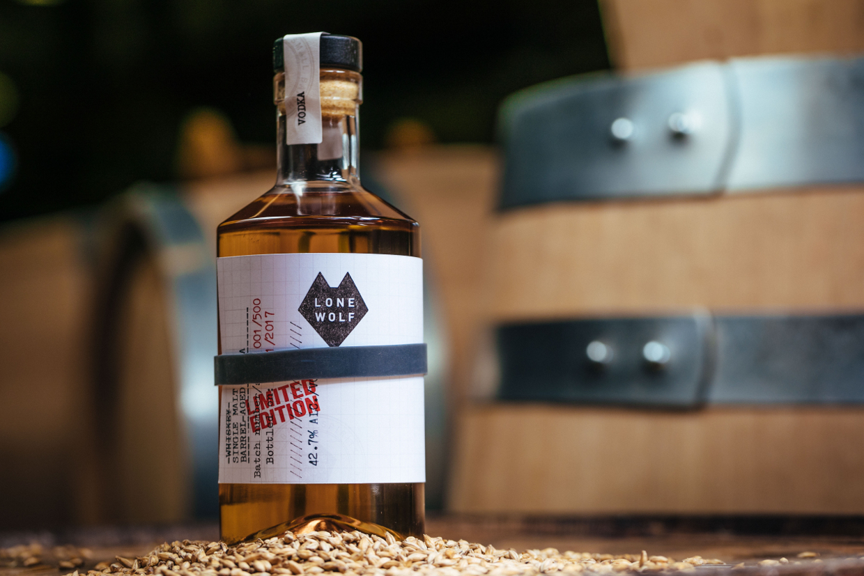 Lone Wolf Single Malt Barrel-Aged Vodka