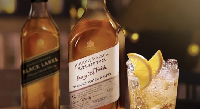 Johnnie Walker выпустил новый Blenders' Batch Sherry Cask Finish