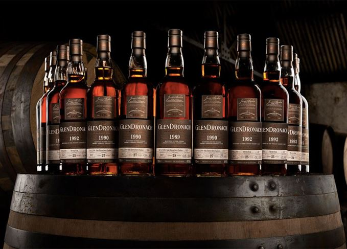 GLENDRONACH LAUNCHES 15 SINGLE CASK MALTS