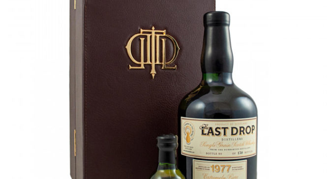 The last drop 1977 Dumbarton 42 year old